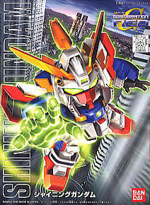 239 Shining Gundam (SD) (Gundam Model Kits)