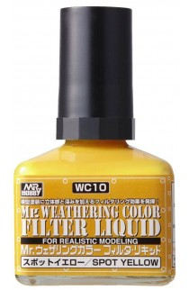 weathering color filter liquid wc-10 spot yellow 40ml.