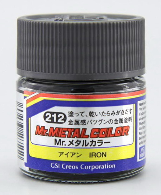 Mr.metal color 212 iron 10ml.