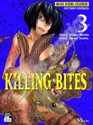Killing Bites เล่ม 3 สินค้าเข้าร้านวันจันทร์ที่ 20/11/60