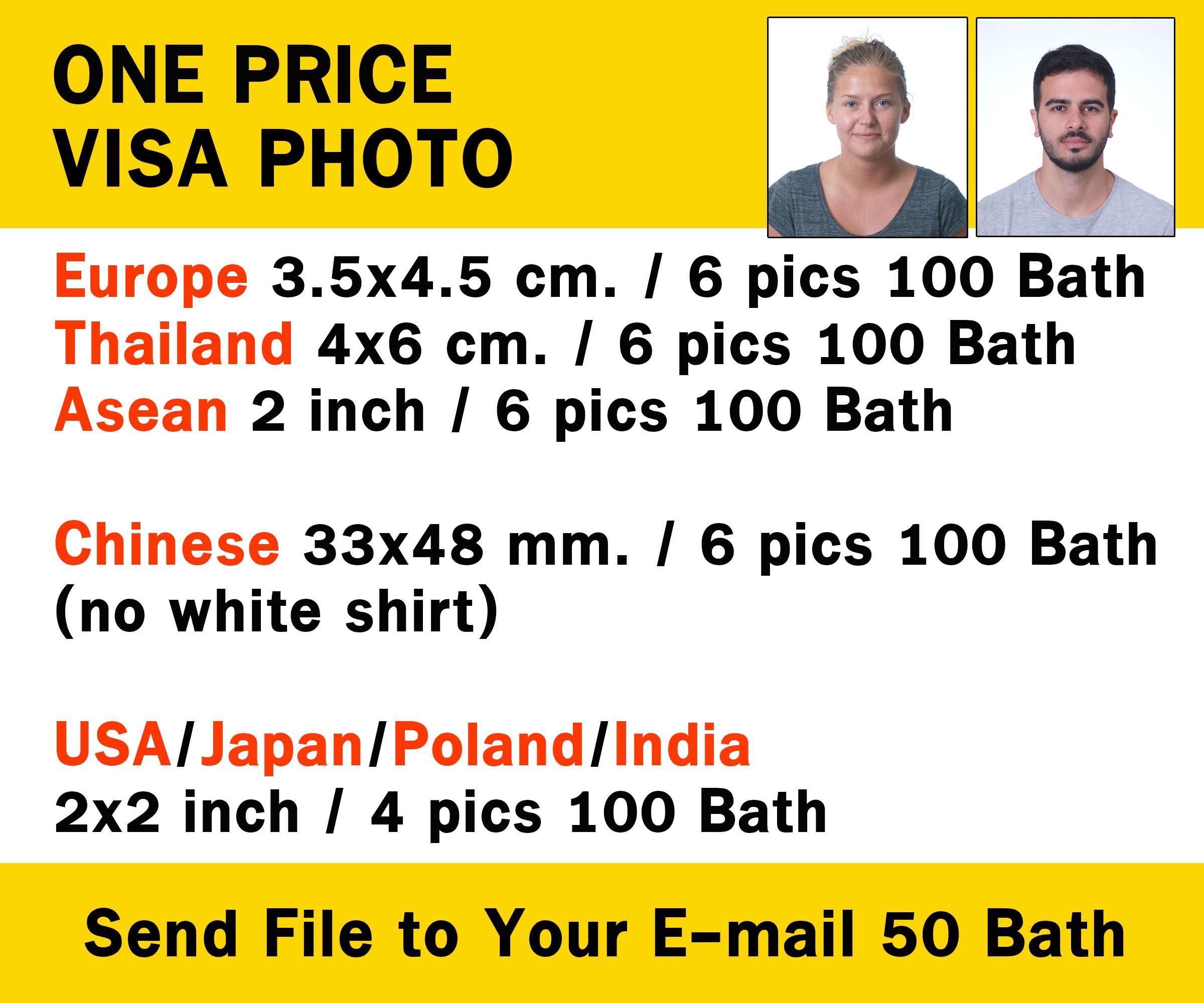 Visa Photo Chaing Mai
