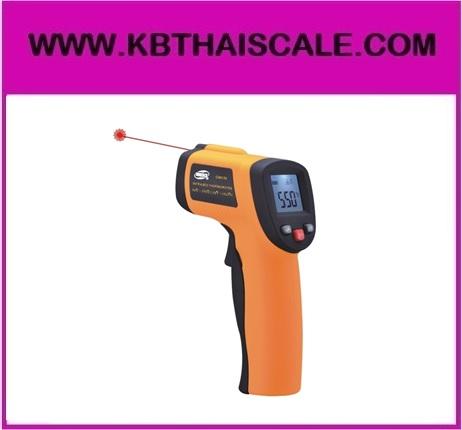 เครื่องวัดอุณหภูมิ เทอร์โมมิเตอร์แบบอินฟราเรด -50 ถึง 550 องศาเซลเซียส (-58 ถึง 1022℉) GM550