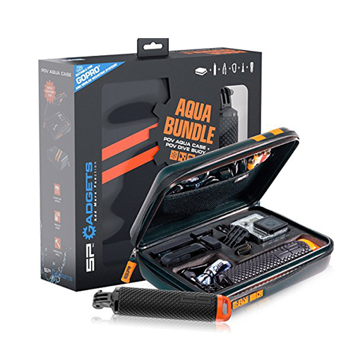 Germany SP Gadgets Aqua Bundle original diving suit (diving rod + waterproof box storage package) Gopro HERO 5/4 accessories