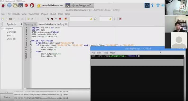 Raspberry Pi Online คาบที่ 8 เรื่อง การลงLibraryที่เกี่ยวข้องกับการเขียนเว็บ ตอนที่ 2/2