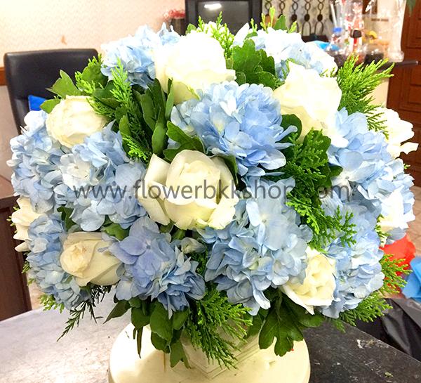 แจกันดอกไม้สด รหัส WVA05