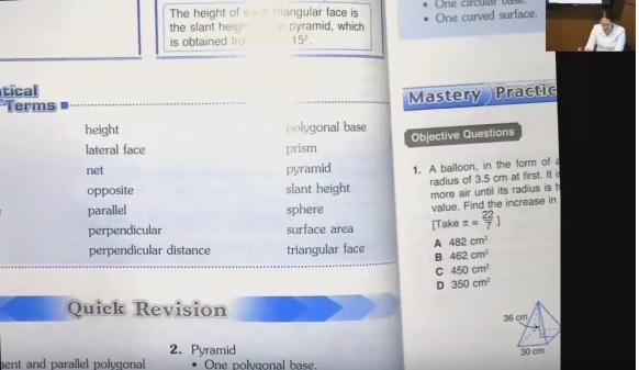 เรียนคณิตศาสตร์EPออนไลน์ ม.3 (ครูอุ๋งอิ๋ง) บทที่ 2 เรื่อง volume ตอนที่ 1/2