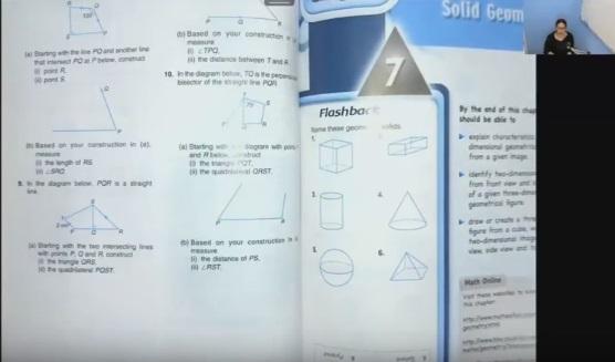 เรียนคณิตศาสตร์EPออนไลน์ ม.1(ครูอุ๋งอิ๋ง) ครั้งที่ 7 เรื่อง รูปทรงเรขาคณิต 3 มิติ ตอนที่ 1/4