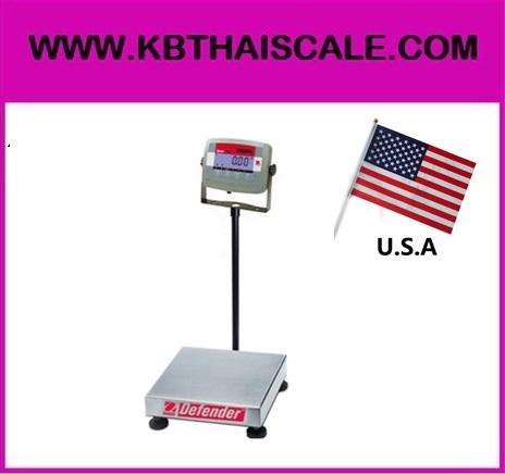 ตาชั่งดิจิตอล เครื่องชั่งดิจิตอล 30kg ละเอียด2g แท่นชั่ง30x35cm OHAUS Defender3000 T31-3035-30