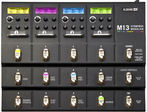 Line 6 : M13 Stompbox Modeler