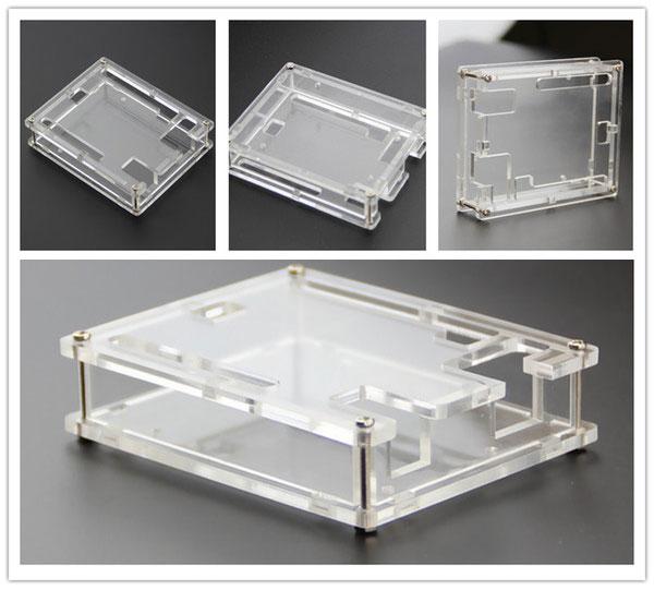 Arduino UNO R3 acrylic arduino case box เคสกล่องอะคริลิคแบบใส สำหรับ Arduino Uno