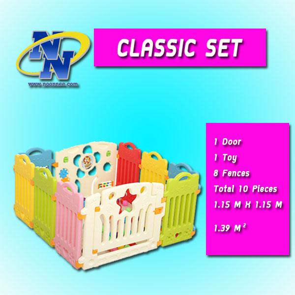 POPOHO Safety Fence for Baby Classic Set รั้วกั้นเด็ก คอกกั้นเด็ก