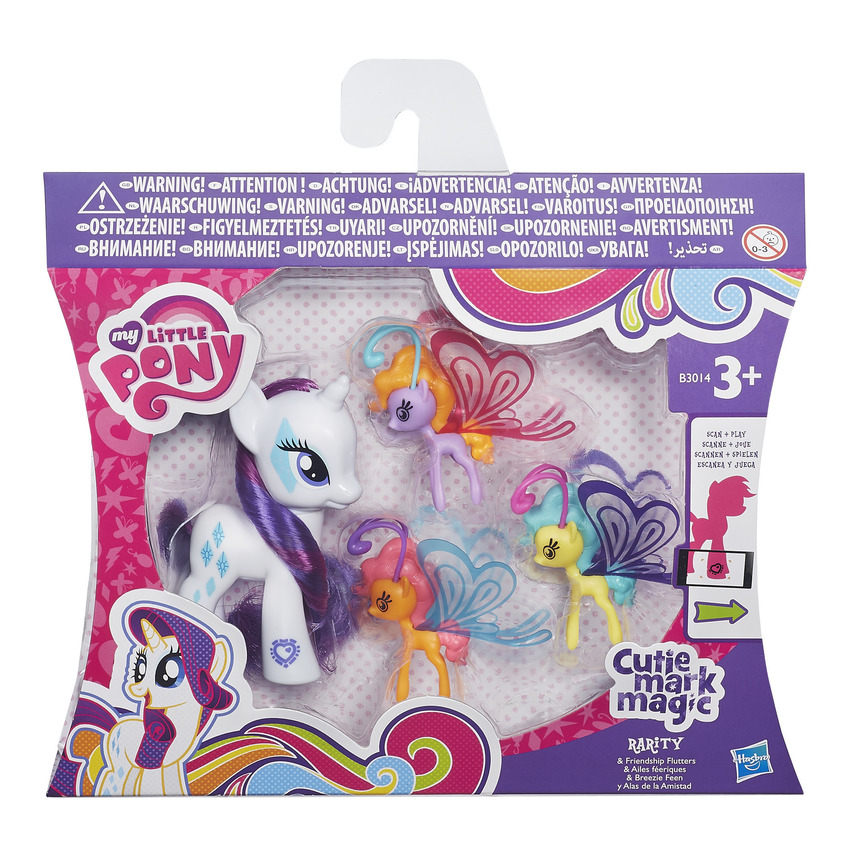 My Little Pony Cutie Magic Mark Rarity & Friendship Flutters