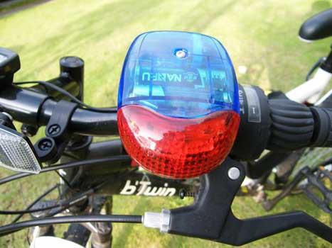 ไซเรนไฟฟ้าแตรไฟฟ้าติดจักรยาน 8 เสียง +ไฟ7จังหวะ BIKE134
