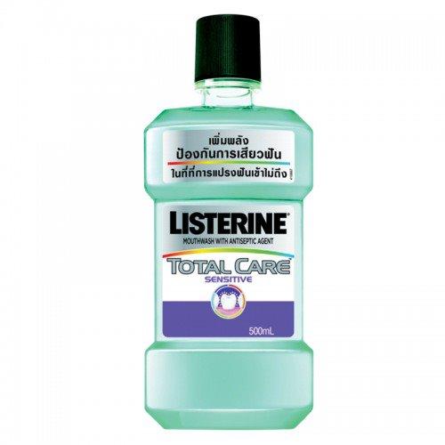 Listerine ลิสเตอรีน โทเทิลแคร์ เซนซิทีฟ 500ml