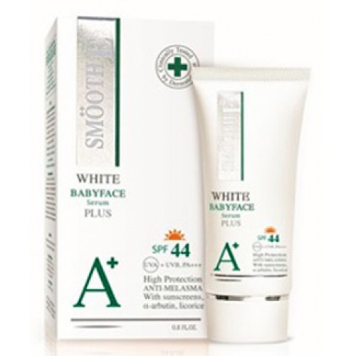 Smooth E White Babyface SerumPlus SPF44 0.8 oz