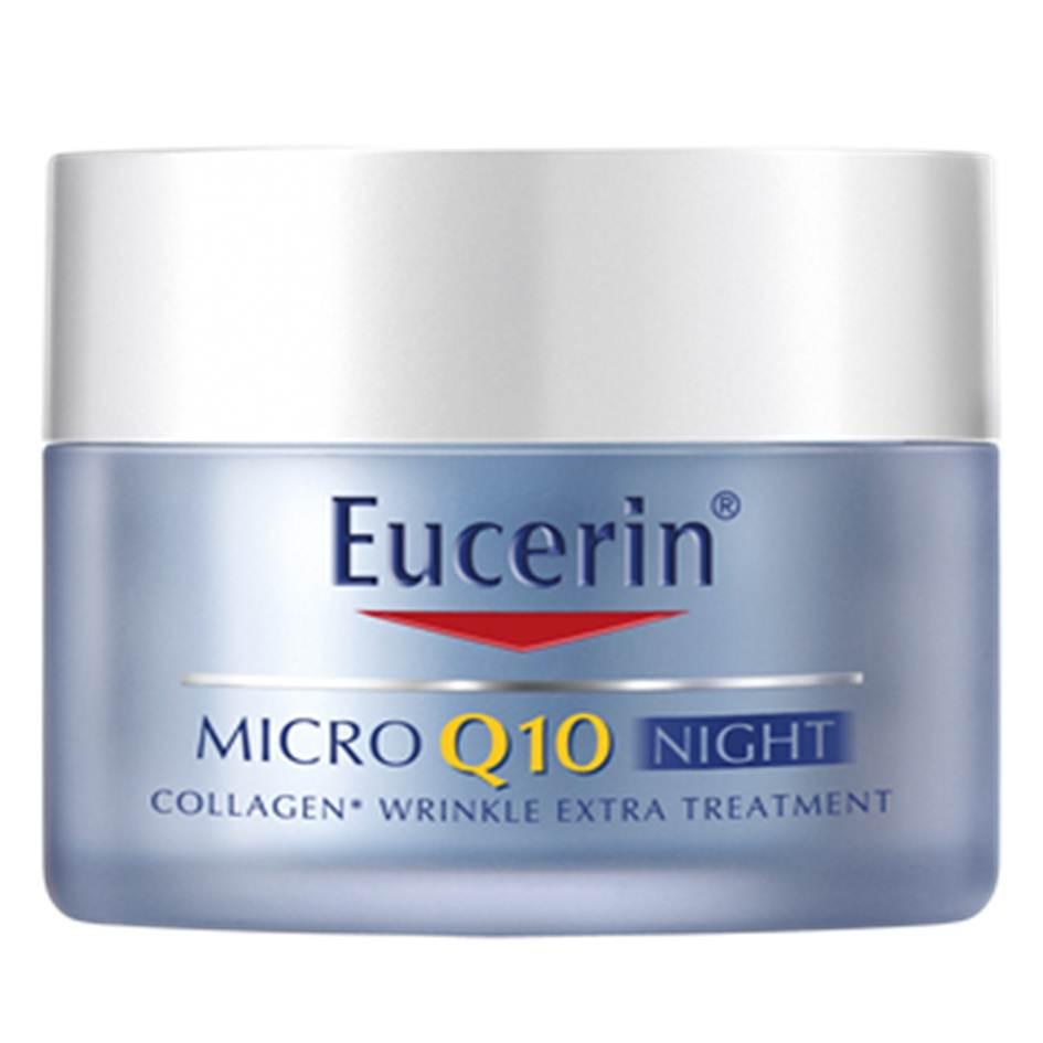 Eucerin MICRO Q10 Night 50ml ยูเซอริน ไมโคร คิวเท็น 3D ฟิลเลอร์ ไนท์ ครีม