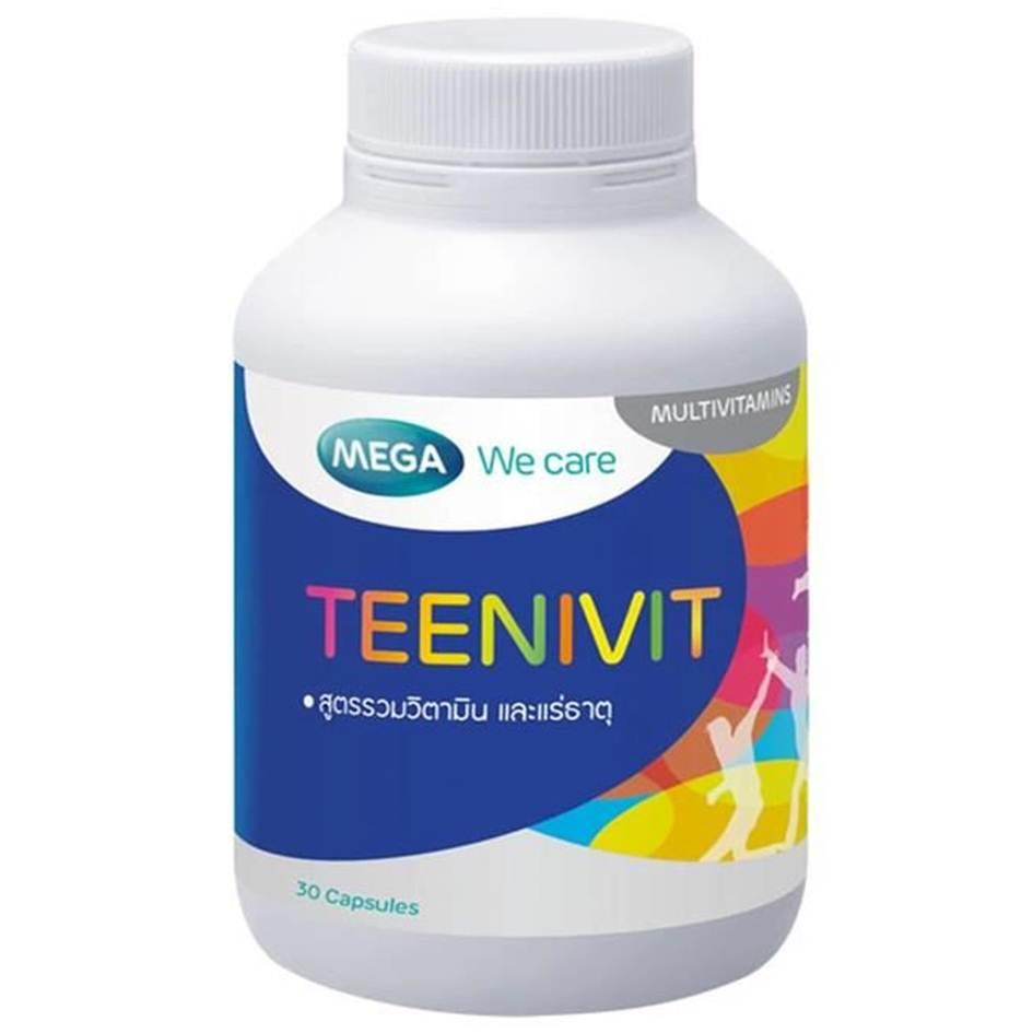 MEGA TEENIVIT 30 เม็ด