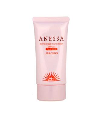 Shiseido Anessa Perfect Gel Sunscreen 4 Plus!