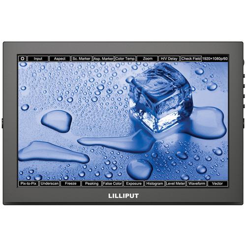 """จอมอนิเตอร์ Lilliput TM-1018/O/P 10.1"""" Touchscreen LED Backlit Camera Monitor"""
