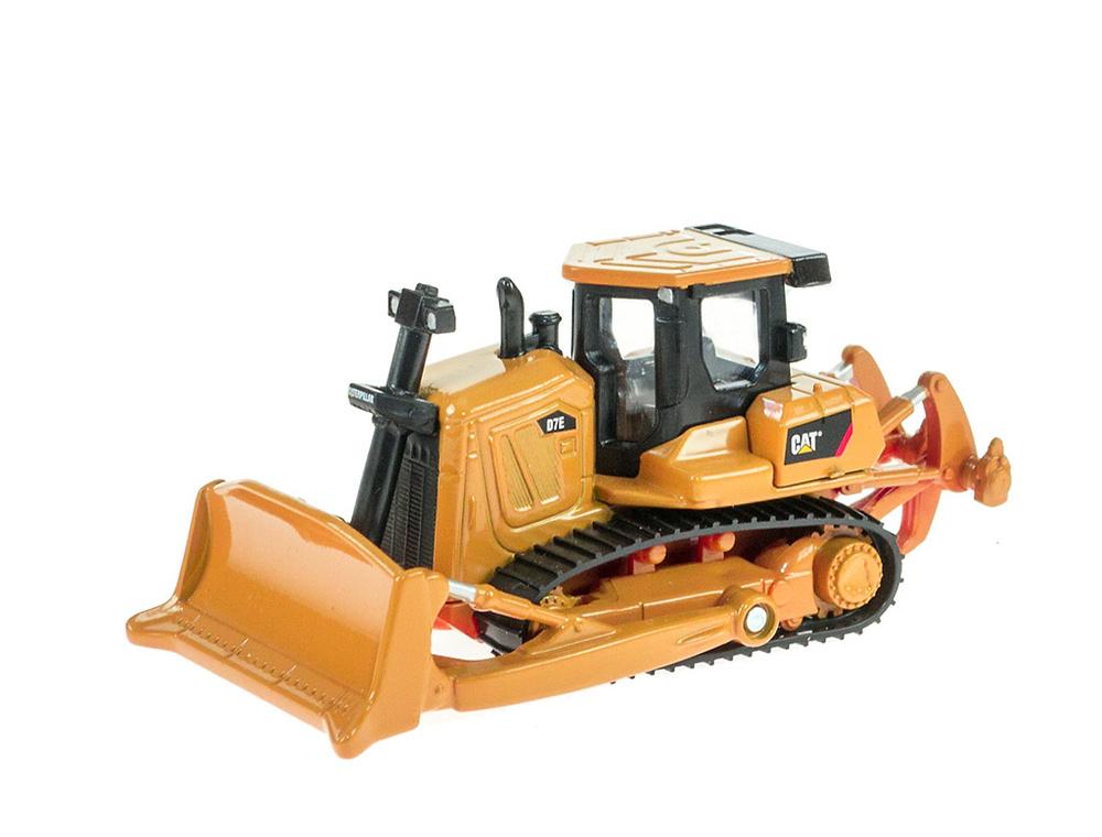 โมเดลรถเกรตดิน รถตักดิน d7e bulldozer 1:83 scale