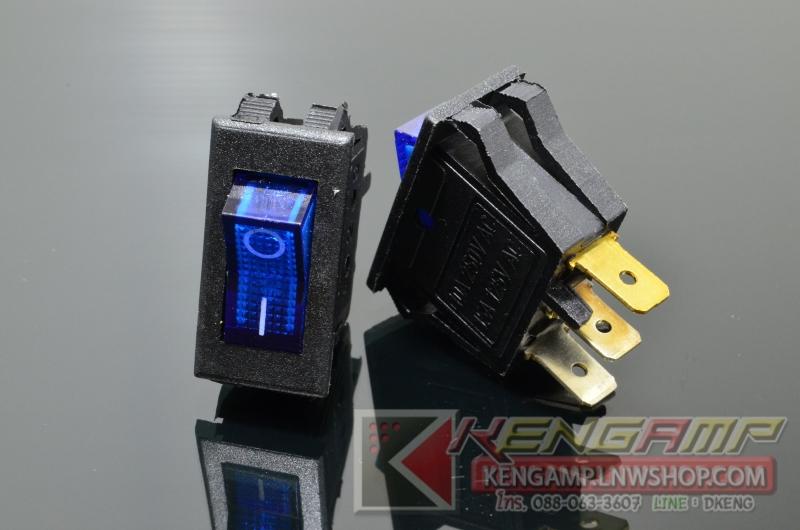 TOGGLE SW-KCD6 BL (5pcs)