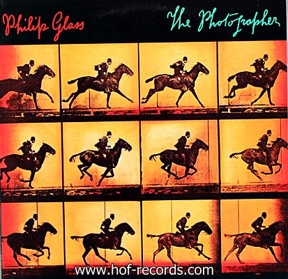 Philip Glass - The Photographer 1983 1lp