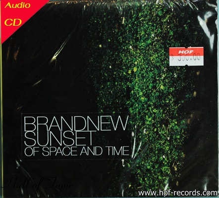 CD Brandnew Sunset - Of space and time +EMS-50
