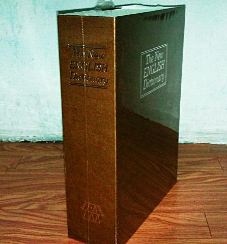 """ตู้เซฟทรงหนังสือ """"ไซด์ใหญ่"""" สีน้ำตาล (มาใหม่ล่าสุด) ซื้อ 3 ชิ้น ราคาส่ง 500 บาท"""