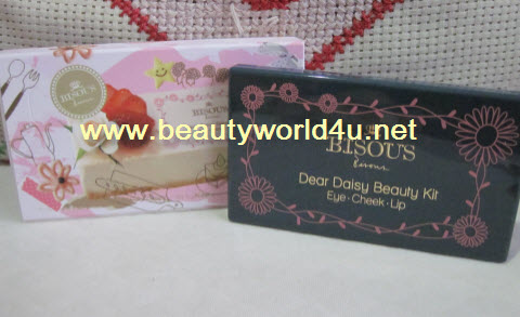 Bisous Bisous dear daisy beauty kit # 01 Pink daisy ลดพิเศษ 40%