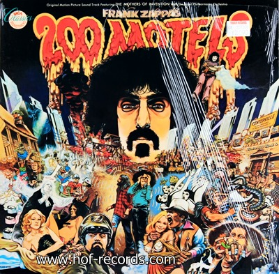 Frank Zappa - 200 Motels 1971 2lp