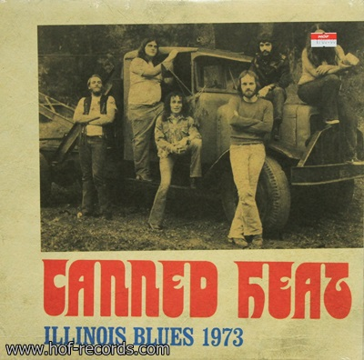 Canned Heat - Illinois Blues 1973 1Lp N.