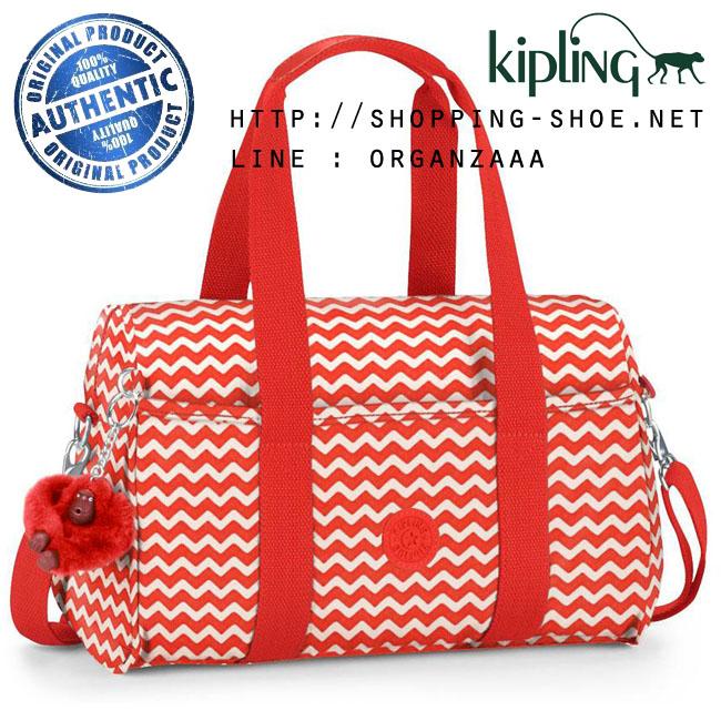 Kipling Practi Cool Chevron Red (Belgium)