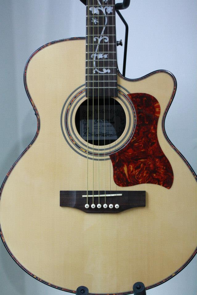 กีต้าร์ โปร่ง ไฟฟ้า Guitar KaSound รุ่น