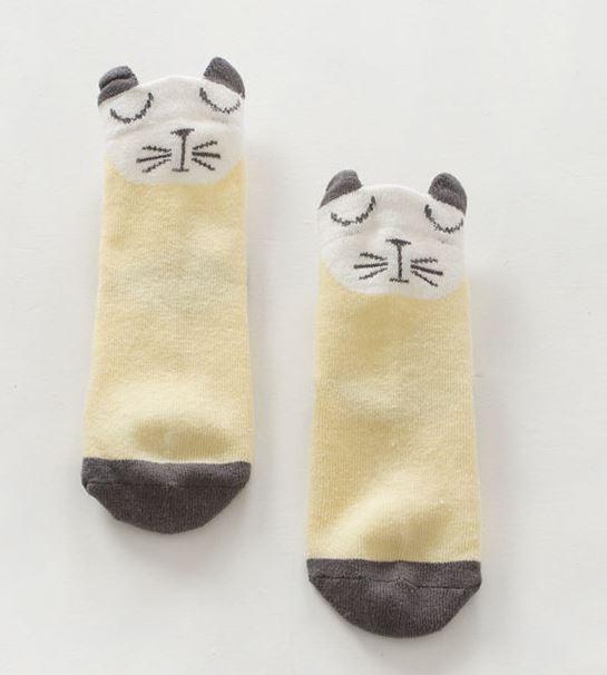ถุงเท้ากันลื่นไซส์ 10-12,12-14 ซม. MSH28