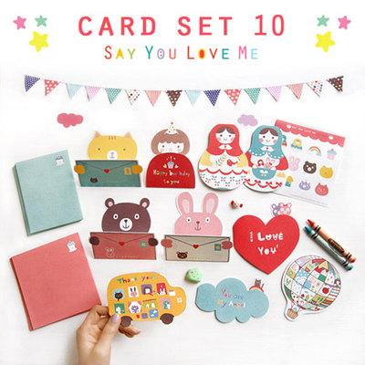 S007 Say You Love Me Card set_x10