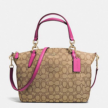 กระเป๋า COACH OUTLINE SIGNATURE SMALL KELSEY SATCHEL F36625