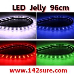 LFC006 LED Jelly Flexibleไฟยางท่อนละ 96 cm. ดัดงอได้ ตัดได้-ต่อได้ (กันน้ำ) ยี่ห้อ OEM รุ่น 96cm