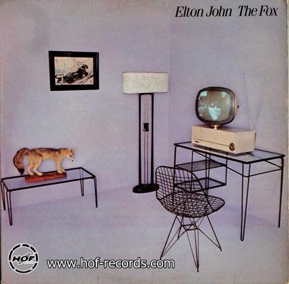 Elton John - The Fox 1981 1lp