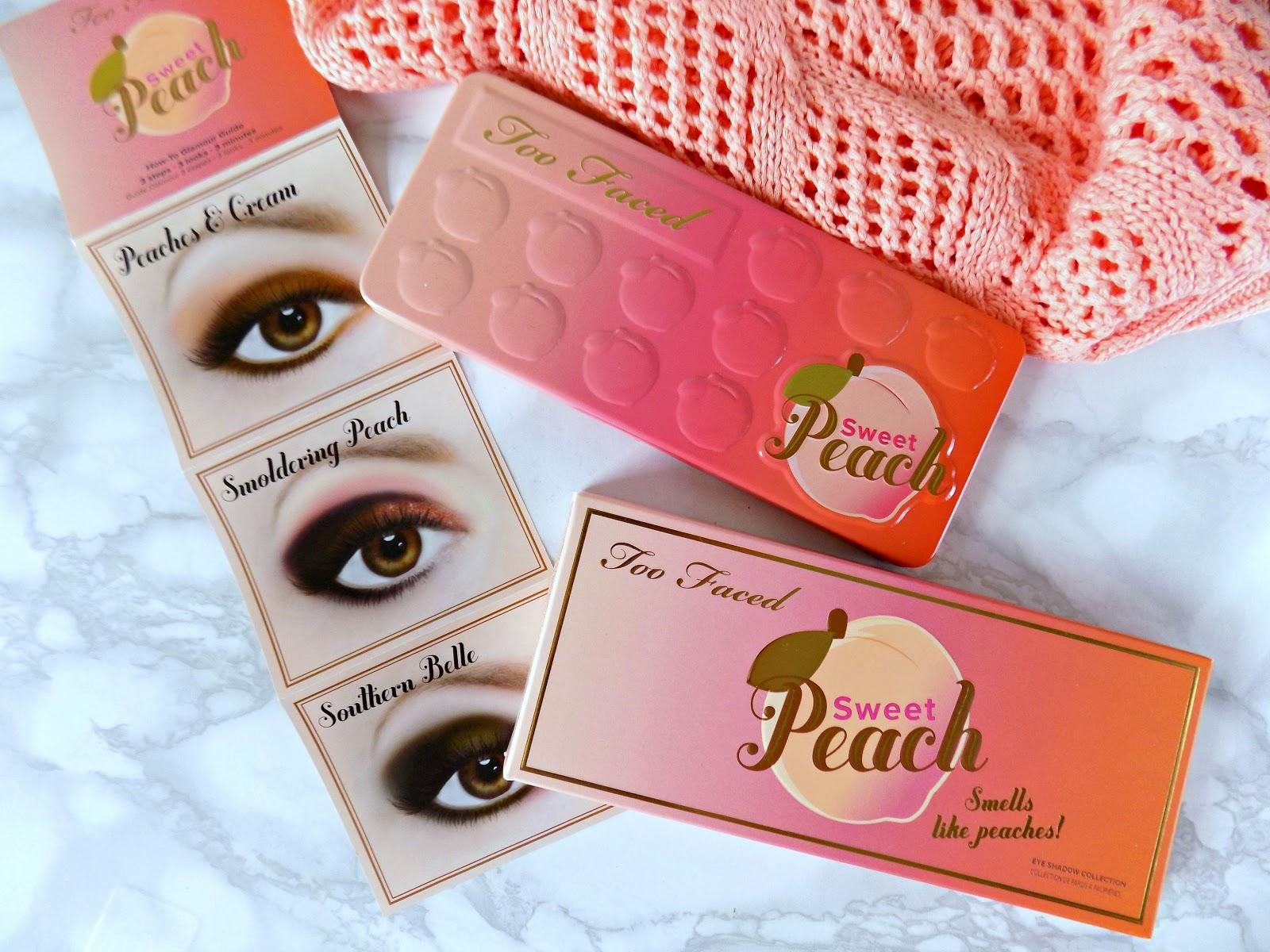 Too Faced Sweet Peach Eye Palette ทู เฟค สวีท พีช อาย พาเลท พาเลทอายแชโดว์ 18 เฉดสี ราคาปลีก บาท ราคาส่ง บาท