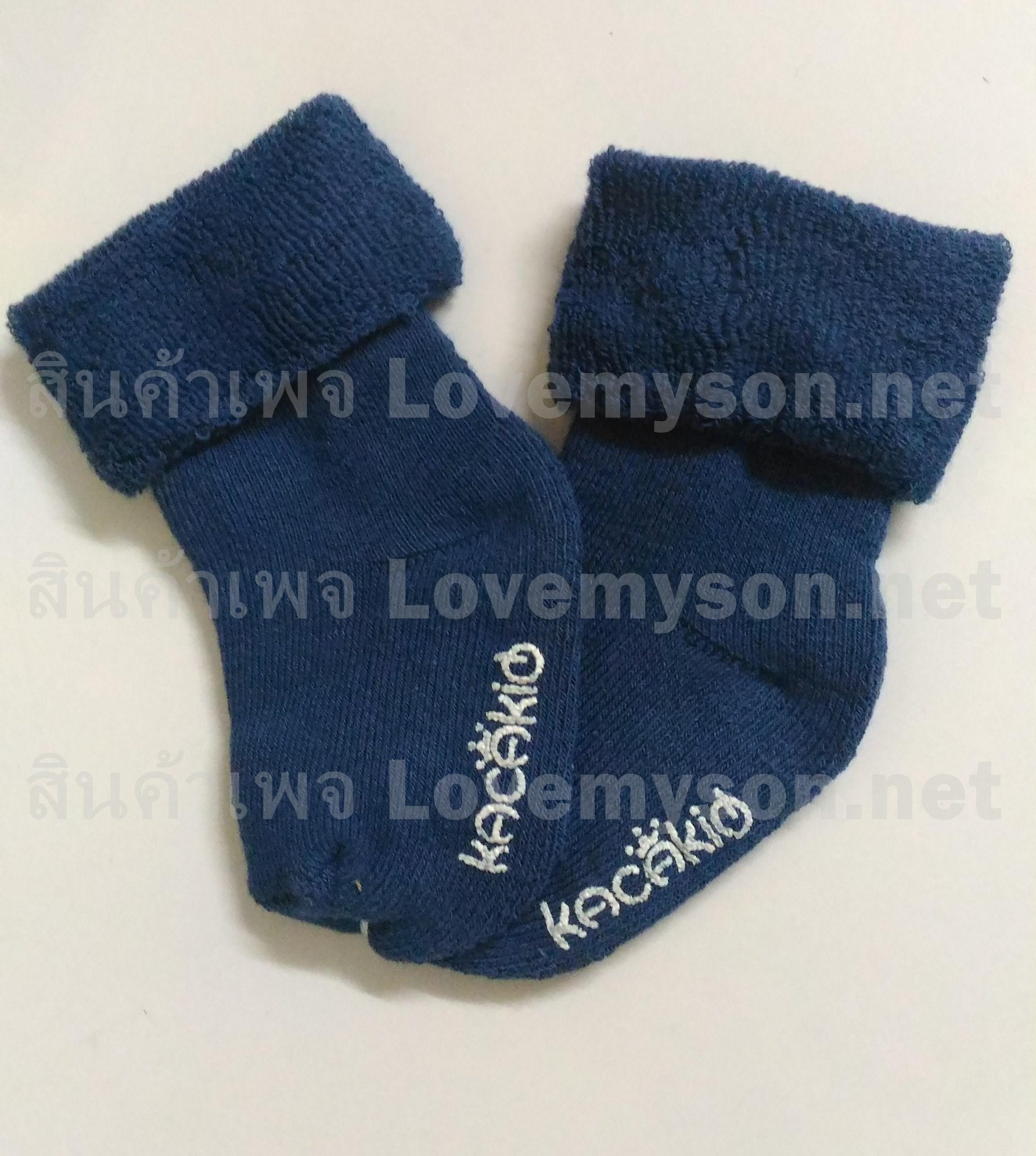 ถุงเท้าเด็กกันลื่นอย่างหนา ไซส์ 10-12,12-14 ซม. MSH74