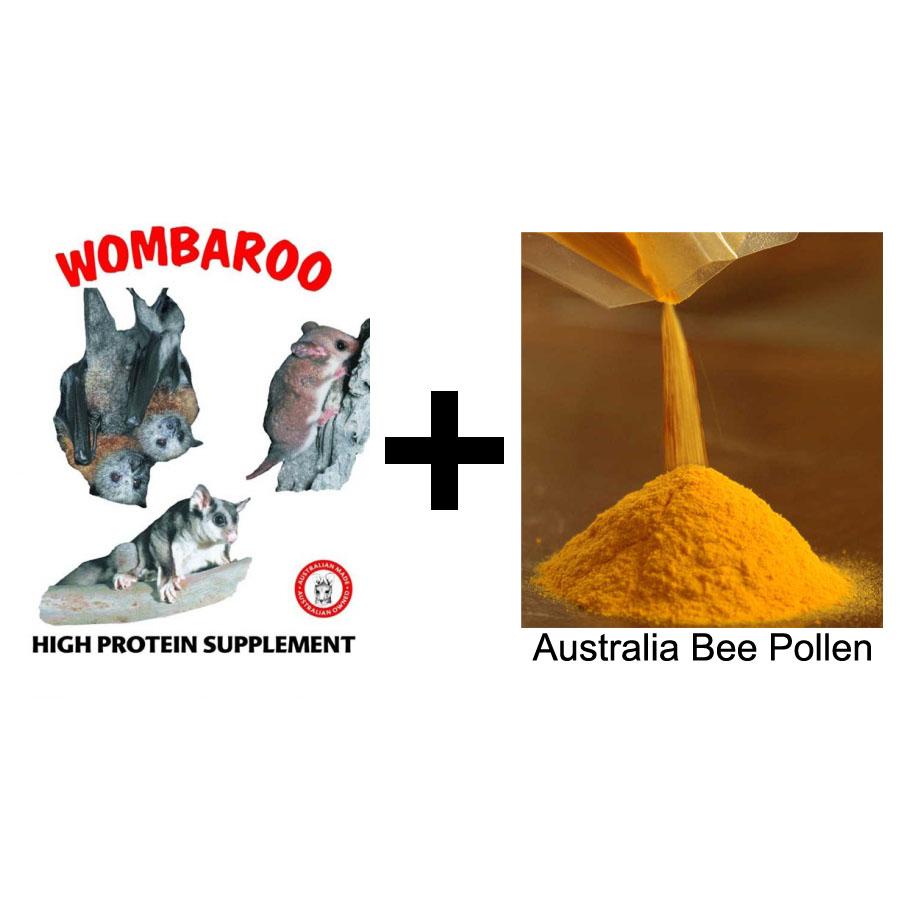 PetsJunG - HPW Kit (Wombaroo HPS / เกสรผึ้งออสเตรเรีย)
