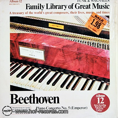 Family Library Of Great Music -piano Concerto No.5 (Emperor) 1lp