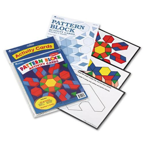 ของเล่นเด็ก ของเล่นเสริมพัฒนาการ Intermediate Pattern Block Design Cards