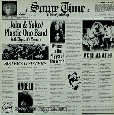 John & Yoko - Some Time In New York City 1972 1lp