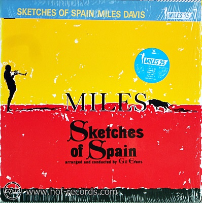 Miles Davis - Sketches Of Spain 1lp