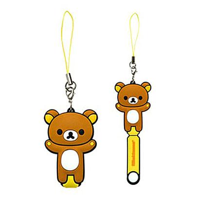 [สินค้าหมด] ที่เก็บหูฟัง San-X Rilakkuma FR-44901 หมีน้ำตาล