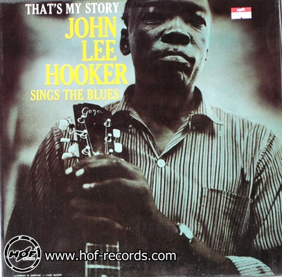 "john lee hooker - that""s my story 1lp"