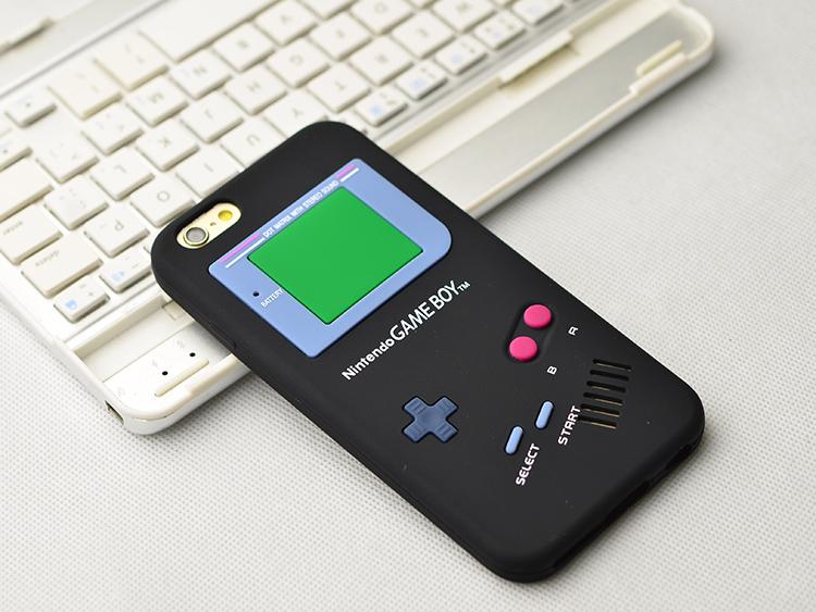** พร้อมส่งค่ะ ** เคส iPhone 6/6s ลาย Gameboy สีดำ