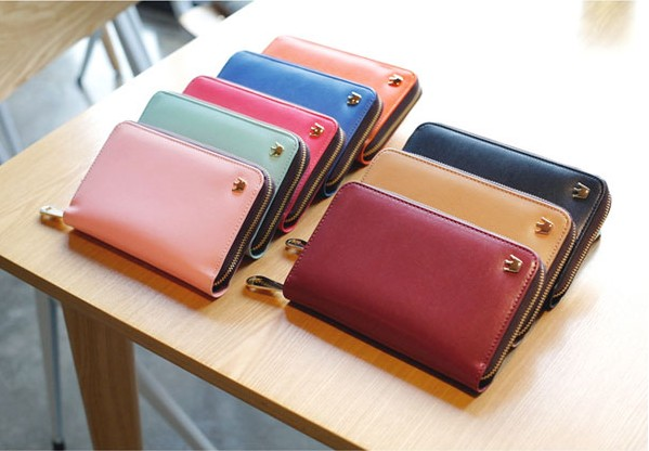P001 Crown Zip Smart wallet