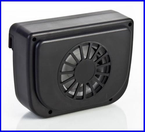 พัดลมโซล่าเซลล์ พัดลมพลังงานแสงอาทิตย์ ระบายอากาศในรถยนต์ SOLAR POWERED AUTO COOL FAN/CAR AIR Ventilation System NEW! Design by USA
